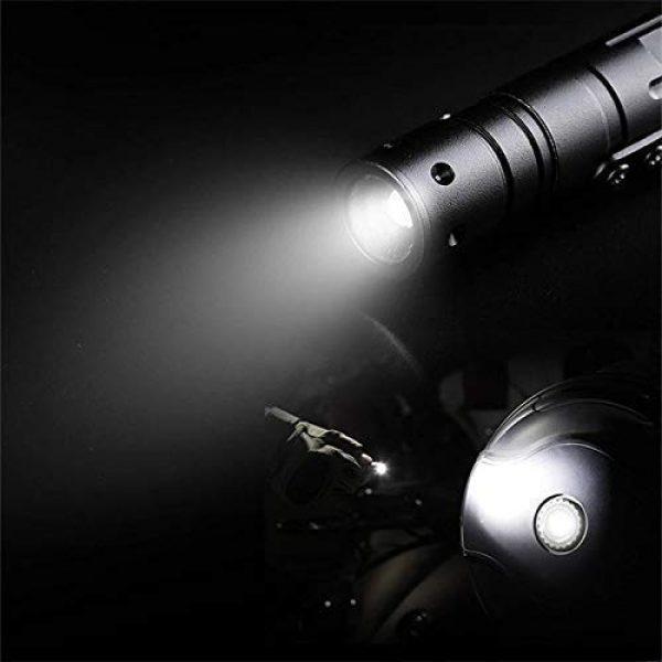 PRETTYGAGA Survival Flashlight 3 PRETTYGAGA Tactical Self-Defense Pen LED Tactical Flashlight, Bottle Opener, Window Breaker | Multi-Tool for Everyday Carry Survival Gear | Military, Police