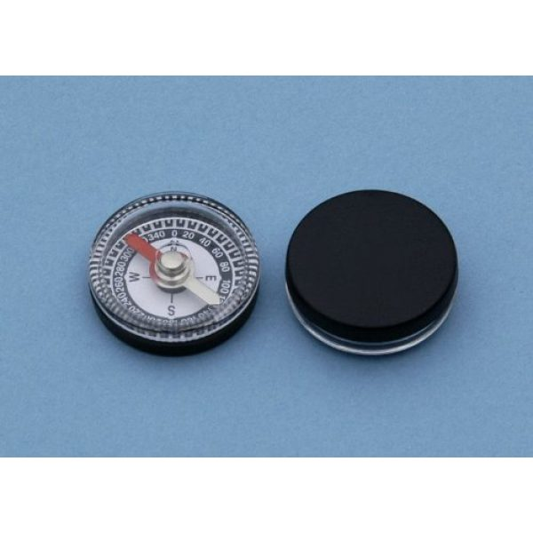 Stanley London Survival Compass 4 Dozen 20 mm Diameter Small Inexpensive Air-damped Magnetic Plastic Compasses - Great for Survival Kits, Projects, or Hobbies