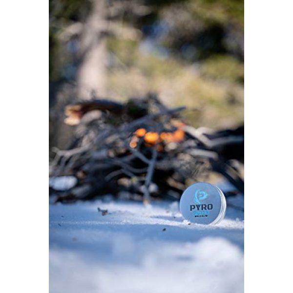 Phone Skope Survival Fire Starter 4 Phone Skope PYRO Putty Winter, Summer, Eco Blend, Emergency Survival Fire Starter