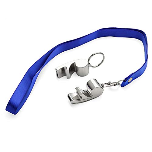 OnePlace Gifts  2 OnePlace Gifts Coach Whistle Gift Keychain Bottle Opener with Lanyard