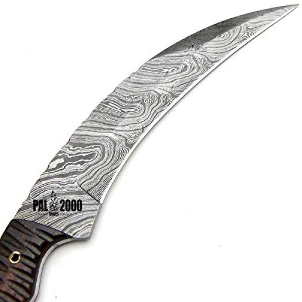 PAL 2000 KNIVES Fixed Blade Survival Knife 4 SGJA-9350 Custom Handmade Damascus Steel Hunting Knife -Sword|Chef Kitchen Knife|Dagger|Full Tang|Skinner|Bowie|Axe|Billet|Cleaver|Bar|Folding Knife|Kukri|Knives|Survival|Camping with Sheath