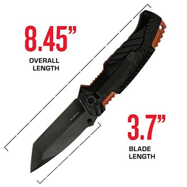 Tac Force Evolution Folding Survival Knife 4 Tac Force Evolution Spring Assisted Knife - TFE-A028T-EM