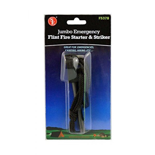 SE Survival Fire Starter 2 SE Jumbo Emergency Flint Firestarter and Striker - FS378
