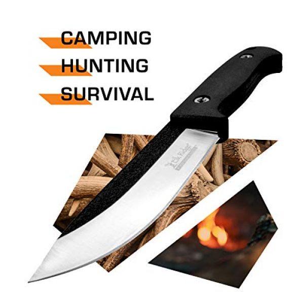 Elk Ridge Evolution Fixed Blade Survival Knife 2 Elk Ridge Evolution Fixed Blade Knife - ERE-FIX001-BK