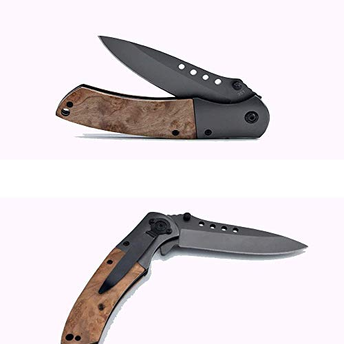 Deceny CB  4 Deceny CB Folding Knife Pocket Knife Outdoor Survival Knife Rescue Knife Tactical Folding Knife with Sheath for Camping Hunting Survival and Outdoor