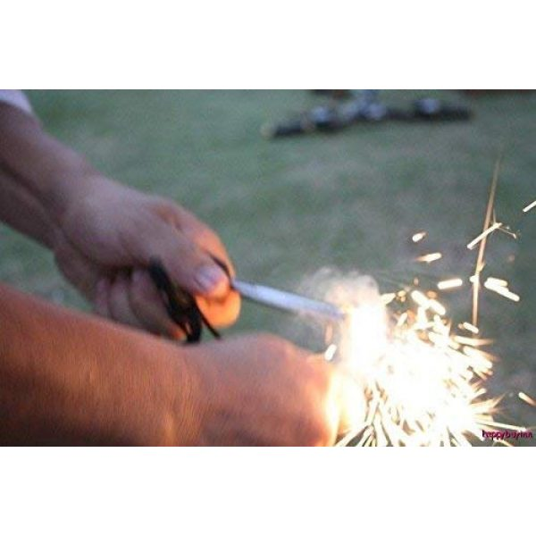 uniqwardrobe Survival Fire Starter 3 uniqwardrobe Survival Magnesium Flint Stone Fire Starter Lighter Kit