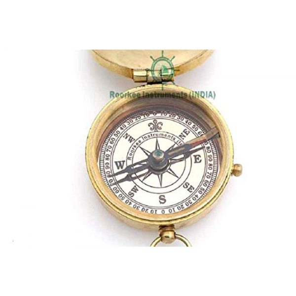 Roorkee Instruments India Survival Compass 5 ROORKEE INSTRUMENTS (INDIA) A NAUTICAL REPRODUCTION HOUSE to My Son Compass/Father to Son Gifts/Mother to Son Gift/Inspirational Gift to Son