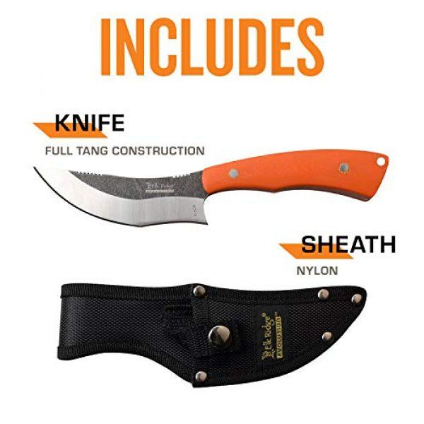 Elk Ridge Evolution Fixed Blade Survival Knife 5 Elk Ridge Evolution Fixed Blade - ERE-FIX012-OR