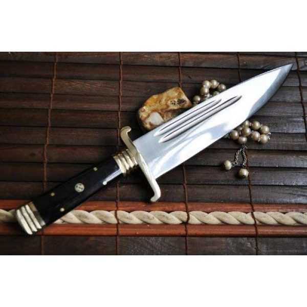 Perkin Fixed Blade Survival Knife 6 Handmade Hunting Knife Hand Forged O1 Tool Steel