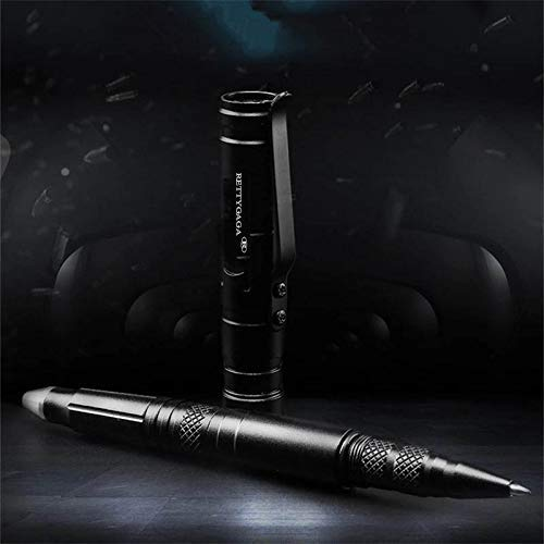 PRETTYGAGA  2 PRETTYGAGA Tactical Self-Defense Pen LED Tactical Flashlight
