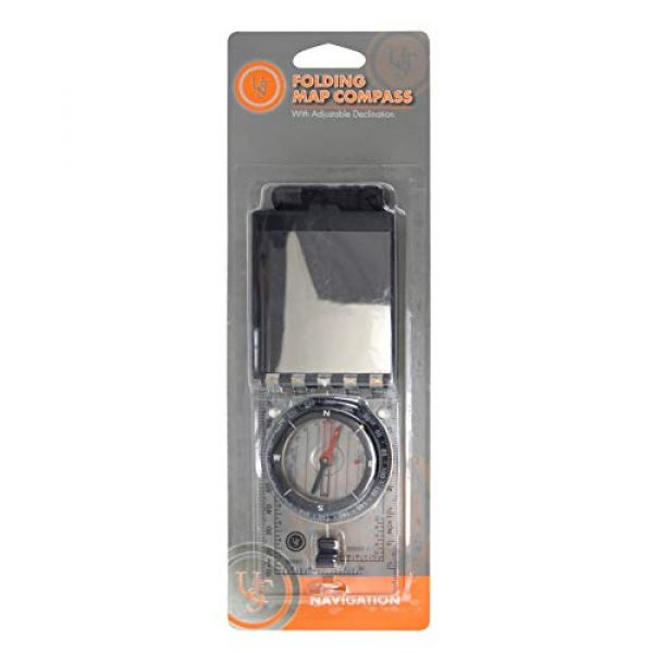 UST Survival Compass 5 UST Folding Map Compass