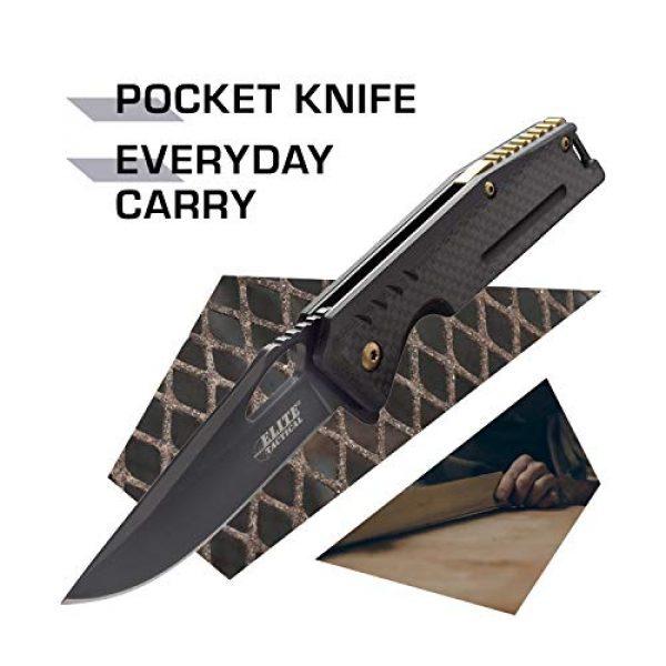 Elite Tactical Folding Survival Knife 2 Elite Tactical Folding Pocket Knife - ET-1013