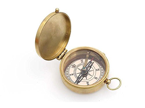 Roorkee Instruments India Survival Compass 6 Roorkee Instruments India Thoreau's Quote Go Confidently in The Direction of Your Dreams! Live The Life You've Imagined Compass