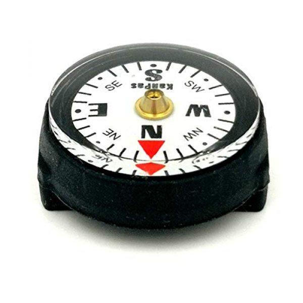 KanPas Survival Compass 7 KanPas Mini Luminous Button Compass for Watch Band Lanyard