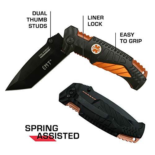 Tac Force Evolution  5 Tac Force Evolution Spring Assisted Knife - TFE-A028T-EM