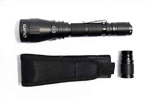 LA Police Gear  7 LA Police Gear Operator HIL 1100 Lumens Bright Tactical Flashlight
