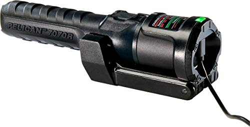 Pelican  4 Pelican 7070R Rechargeable Tactical LED Flashlight (Black)