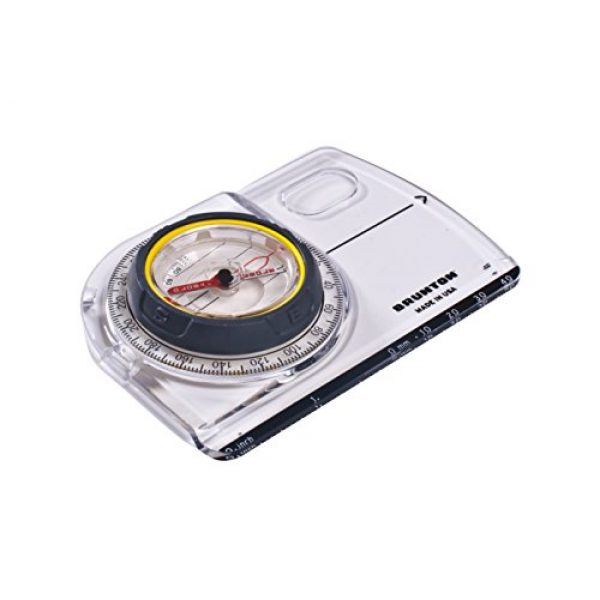 Brunton Survival Compass 3 Brunton TruArc5 Baseplate Mapping Compass