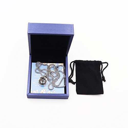 Necklace Compass Stylish Jewelry Gift Wrap