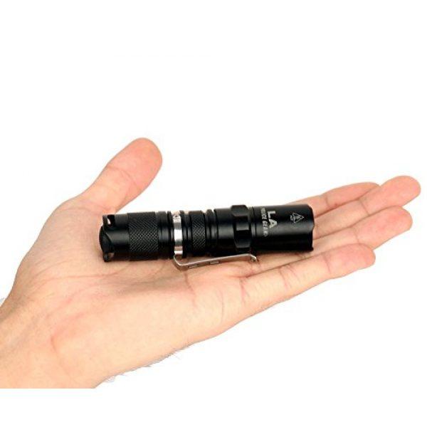 LA Police Gear Survival Flashlight 3 LA Police Gear Operator EDC 330 Lumens Compact Tactical Flashlight