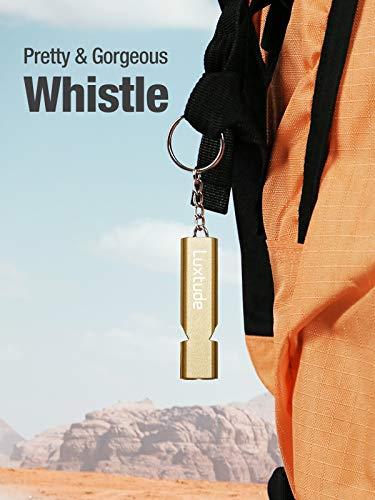 Luxtude  3 Luxtude 4 Pack Emergency Whistles