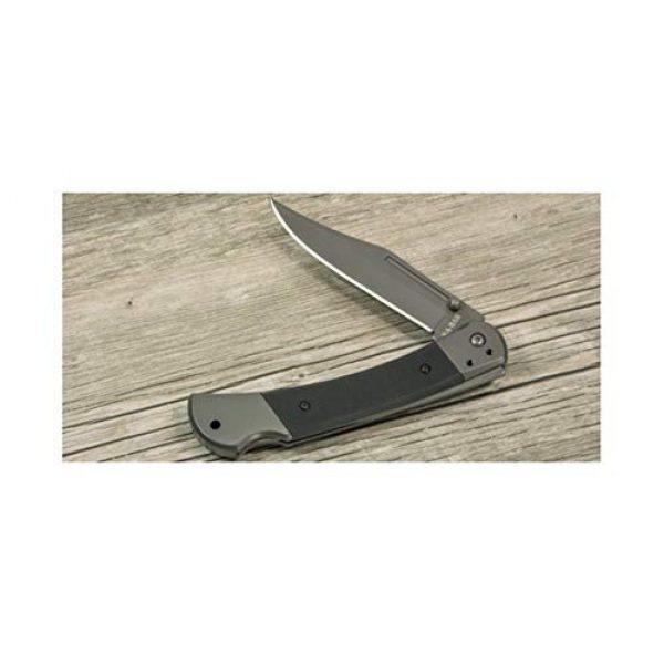 Ka-Bar Folding Survival Knife 5 KA-BAR 3189, Folding Hunter,Black