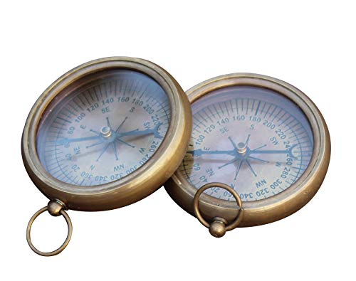 collectiblesBuy  2 collectiblesBuy Nautical Vintage Antique Finish Compass