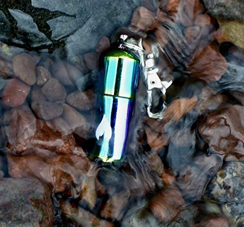 PreparNation  5 Waterproof Lighter Keychain Refillable Survival Hiking EDC by PreparNation