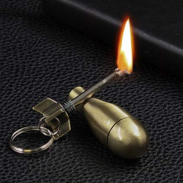CATNON Survival Fire Starter 4 CATNON Permanent Match,Flint Metal Keychain Match,Fire Starter Permanent Match,Waterproof Emergency Survival Camping Keychain Lighter for Outdoor(No Oil)