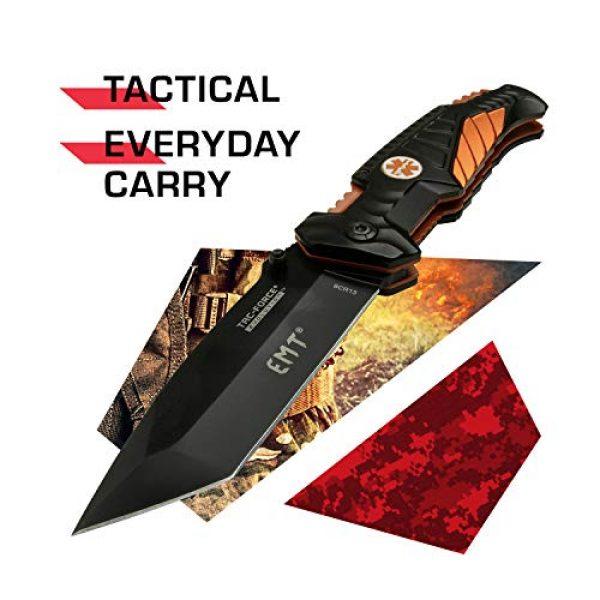 Tac Force Evolution Folding Survival Knife 2 Tac Force Evolution Spring Assisted Knife - TFE-A028T-EM