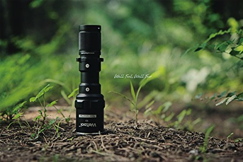 Weltool  4 Weltool T7 AA Compact Tactical Flashlight Long Throw IP67 Waterproof 659ft Powered by 14500 AA Battery Impact-Resistant for Hunting Remington 870