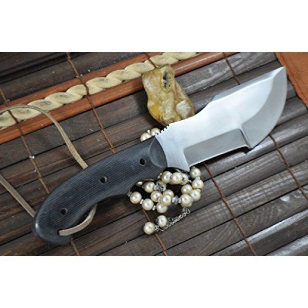 Perkin Fixed Blade Survival Knife 3 Perkin Knives Handmade Hunting Knife -Micarta Handle- Beautiful Camping Knife