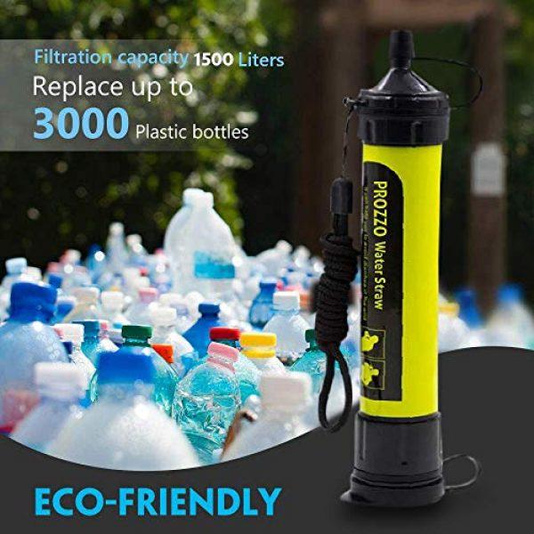 AVENTURE ET CULTURE Survival Water Filter 5 AVENTURE ET CULTURE Personal Water Filter for Hiking, Camping, Travel, and Emergency Preparedness