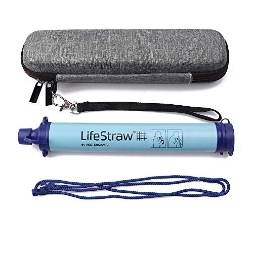 Joyhub  2 Joyhub Carry Travel Case for LifeStraw and LifeStraw Steel Personal Water Filte Sewage Purification Storage Zipper Protective Bags
