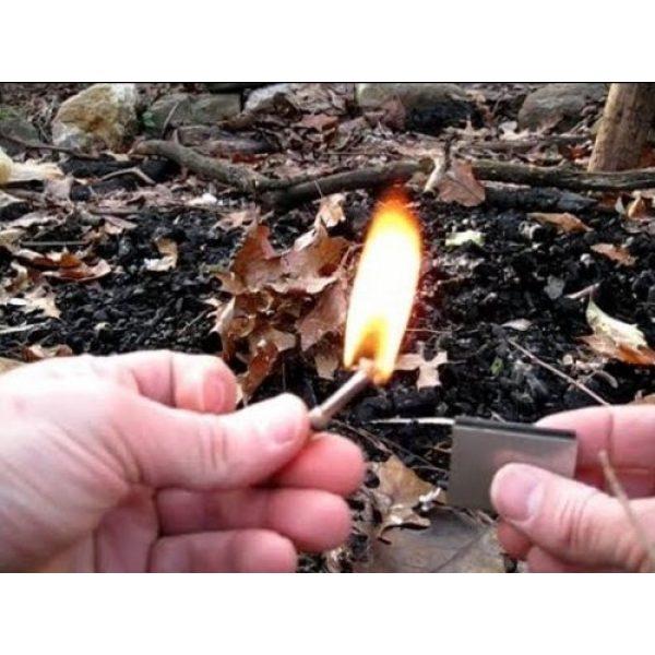 ETOPSTECH Survival Fire Starter 2 ETOPSTECH Crazy Shopping 5pcs Flint Metal Match Lighter, Lighter Fluid Permanent Matchbox, Waterpoof Fire Starter Keychain for Camping Outdoor, Boy Scouts