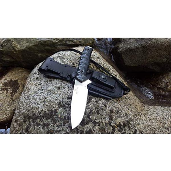 JEO-TEC Fixed Blade Survival Knife 2 JEO-TEC N21 Bushcraft Survival Hunting Knife - BOHLER N690C Stainless Steel, Multi-positioned Sheath - Handmade