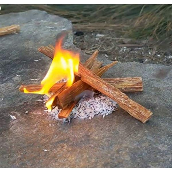 PBL Survival Fire Starter 6 Emergency Fire Starting Magnesium 8 Bags 99% Pure Camping Hiking Bushcraft