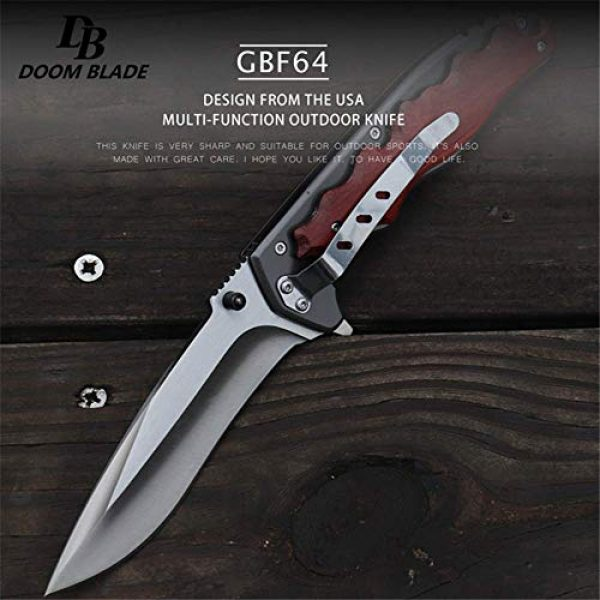 Tuzech Folding Survival Knife 3 Tuzech 5Cr15MoV Blade Folding Knife Cs Go Wooden Handle Top Knifes FACA Tactical Hunting Survival Knives Camping Tool