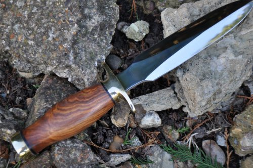 Perkin  4 Perkin Handcrafted Hunting Knife - 440c Steel - Double Edge - Amazing Value Limited Time Offer