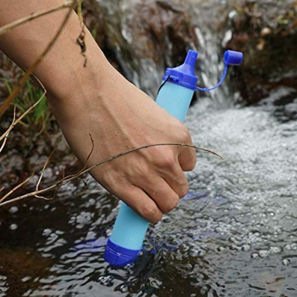 Latesco4Happy Survival Water Filter 2 Latesco4Happy Portable Purifier Water Filter Straw Gear Camping Hiking Emergency Life Survival