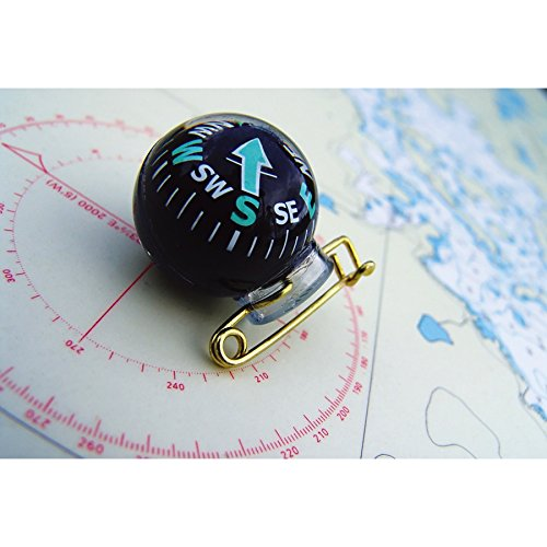 Coghlan's Survival Compass 5 Coghlan's 8268 Pin-On Compass Set of 2