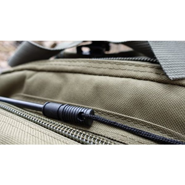 Schrade Survival Fire Starter 3 Schrade SCHFS1 4in Ferro Rod Fire Striker with Lanyard for Outdoor Survival, Camping and Emergency Situations