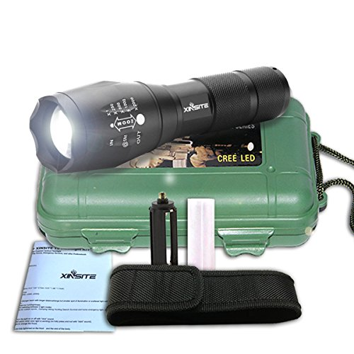 Brightest Flash Light with 5 Light Modes for Outdoor Torch Light