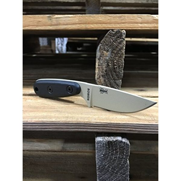 ESEE Fixed Blade Survival Knife 4 ESEE Knives Izula-DT w/Handle, Molded Polymer Sheath, and Clip Plate