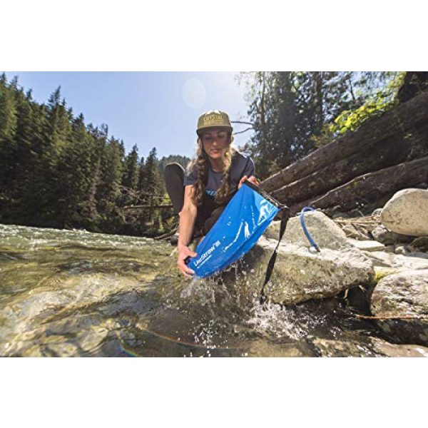 LifeStraw Survival Water Filter 4 LifeStraw Flex Advanced Water Filter with Gravity Bag - Removes Lead, Bacteria, Parasites and Chemicals