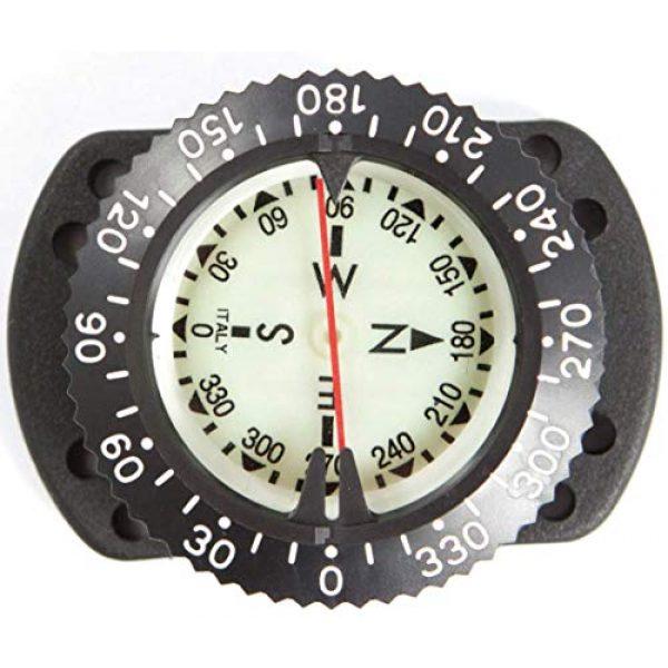 XS Scuba Survival Compass 2 Highland by XS Scuba Bungee Mount Compass