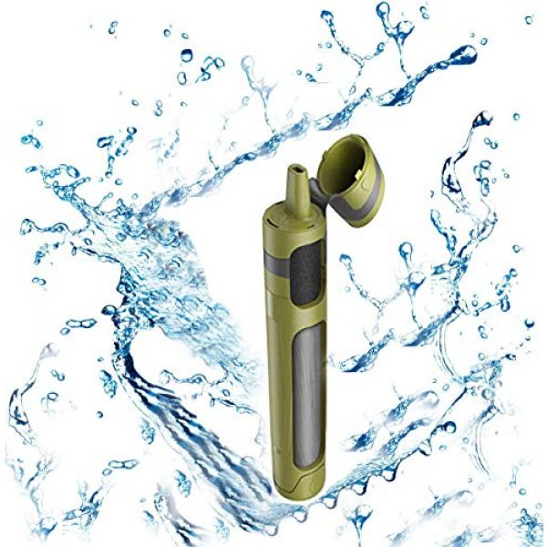 USIPuretal Survival Water Filter 3 USIPuretal Personal Portable Water Filter for Camping, Hiking, Backpacking and Emergency