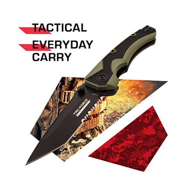 Tac Force Evolution Folding Survival Knife 2 Tac Force Evolution Spring Assisted Knife - TFE-A019T-BGN