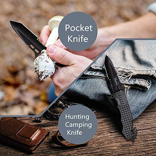 Seenew  4 Tactical Folding Knife - Escape Pocket Knife