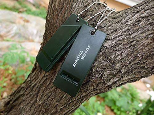 iFire  2 iFire Flat Safety Whistle for Camping